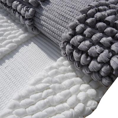 tapis de salle de bain-design-contemporain-fibres recyclées ...
