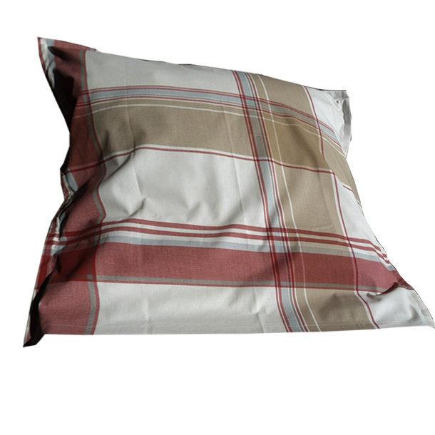 Taie carr e et rectangulaire en pur coton bio ligne quilt - Taies oreillers rectangulaires ...