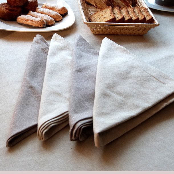 Serviettes de table coton serviette de table coton bazas - Serviette de table en tissu pas cher ...