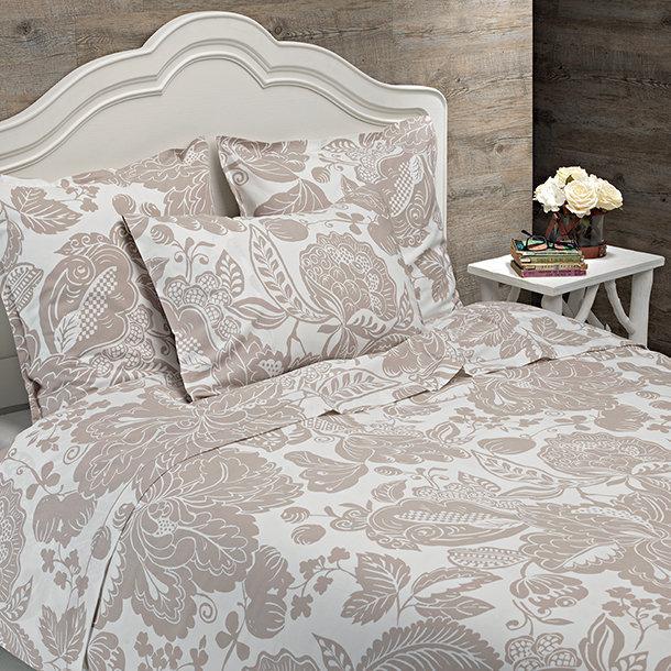 drap imprim 240x300 coton bio collection bioel gance plusdecoton. Black Bedroom Furniture Sets. Home Design Ideas