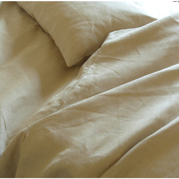drap en lin lit 2 personnes. Black Bedroom Furniture Sets. Home Design Ideas