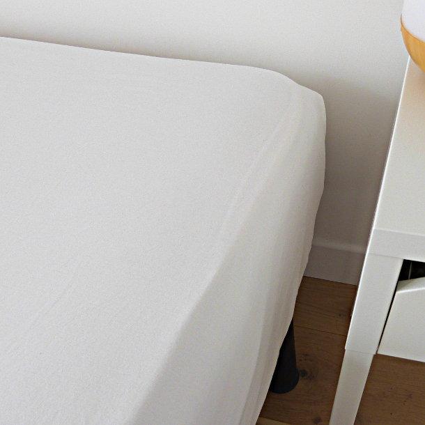 Drap housse coton bio ecru for Drap housse coton bio 90x200
