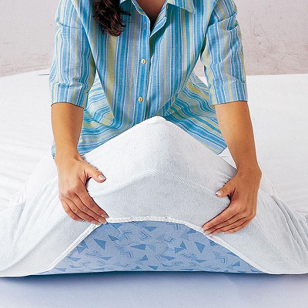 bio protection matelas drap housse blanc. Black Bedroom Furniture Sets. Home Design Ideas