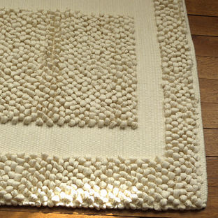 tapis bain beige pais tissage artisanal effet massant. Black Bedroom Furniture Sets. Home Design Ideas
