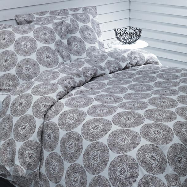 nouveaut s plus de coton un dessin g om trique pour une housse de couette en 100 coton bio. Black Bedroom Furniture Sets. Home Design Ideas