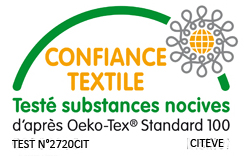 label &eacute;cologique Oeko-Tex