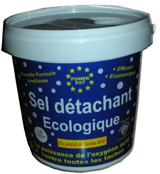 sel détachant ecologique