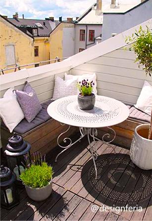 comment donner du style son balcon. Black Bedroom Furniture Sets. Home Design Ideas