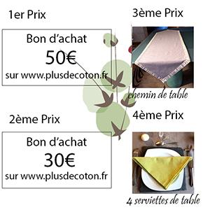 Prix-concours PlusDeCoton