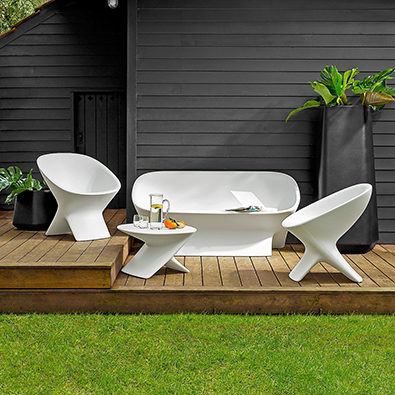 Comment choisir son salon de jardin ma d co au naturel plusdecoton - Comment repeindre un salon de jardin en metal ...