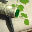 Tissu bio-toile bio-feuilles