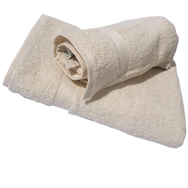 Serviette De Bain Coton Bio.Serviette De Toilette Coton Bio Coloris Naturel