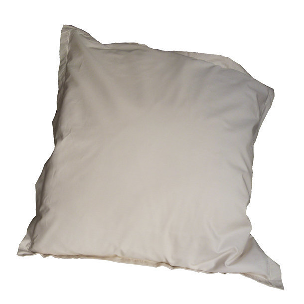 taie d 39 oreiller percale bio collection aurore ivoire. Black Bedroom Furniture Sets. Home Design Ideas