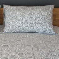 Lot de 2 taies d'oreiller - coton bio - Coloris gris - Collection BioChrome