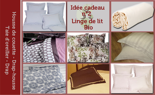 id es cadeaux du linge de lit en coton bio. Black Bedroom Furniture Sets. Home Design Ideas