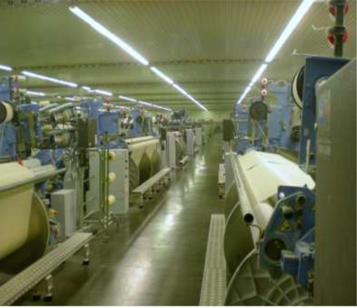Tissage coton bio