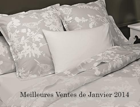 meilleures ventes janvier 2014 plusdecoton linge de maison en coton bio. Black Bedroom Furniture Sets. Home Design Ideas